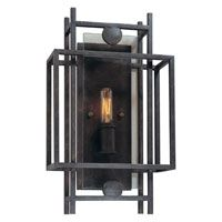 Troy Lighting Crosby 1 Light Wall Sconce in French Iron B2491FI
