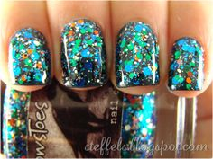 steffels.: NOTDs - CrowsToes, Lynnderella, NerdLacquer and Nfu-Oh
