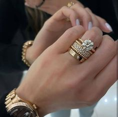 Jewelry Trends, Jewelry Accessories, Jewelry Design, Love Cartier, Cartier Love Ring Diamond, Diamond Rings, Bijoux Louis Vuitton, Gold Ring Designs, Dream Engagement Rings