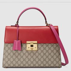 69cfcd28cbb6 Gucci - Multicolor Padlock Gg Supreme Top Handle Bag - Lyst