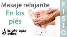 Cómo dar un masaje relajante en los pies