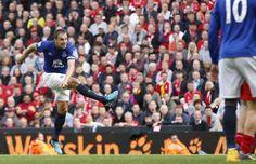 Liverpool 1-1 Everton (© Reuters) Phil Jagielka, West Brom, Everton Fc, Burnley, Champions League, Premier League, Liverpool, Football, Sports