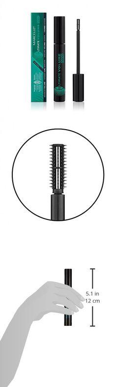 c73237b4253 Marcelle Ultimate Volume Nano Mascara, Blackest Black, Hypoallergenic and  Fragrance-Free, 0.25