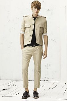 Balmain Spring-Summer 2013 Men, How Not to Be in Love With This Collection?