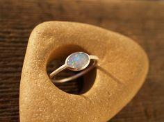 fiery gilson opal ring. $44.00, via Etsy.