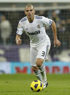 pepe real madrid  The guy is a total head case but an Amazing CB!!!!!! so glad he is RM player