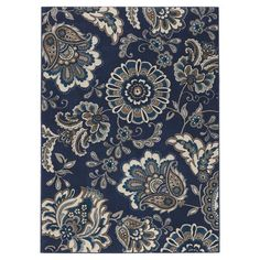 andover mills fisher blue area rug u0026 reviews wayfair
