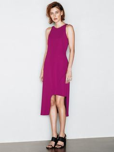 Crepe Double Weave Dress