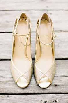 Ivanka Trump gold shoes