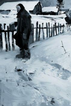 Study 2 by jamajurabaev on DeviantArt Jama Jurabaev, Value Painting, Graphic Novel Art, Speed Art, Soviet Art, Pretty Drawings, Digital Painting Tutorials, Cg Art, Environment Concept Art