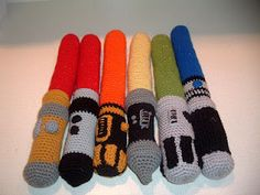 Nanette Crochet...very cool blog with all kinds of video game inspired crochet!