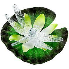 Classic Quarters® Light-Sensor Color-Changing Floating Lily at Big Lots.