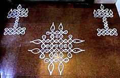 Rangoli Patterns, Rangoli Kolam Designs, Rangoli Ideas, Rangoli Designs With Dots, Kolam Rangoli, Rangoli With Dots, Beautiful Rangoli Designs, Simple Rangoli, Mehandi Designs