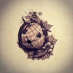 globes tattoo tattoos globe globe tattoo ideas ideal tattoos tasteful ...