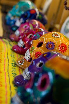 Sugar skulls for Dia de los Muertos by Shaun Keenan