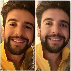 Repost rockme_pierobarone     #bello #smile teampiero #collage #edit photo shared by #camilaczauza #pierobarone #ilvolo #riodejaneiro #vivorio #brazil #sept28  #ouredit