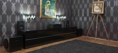 Shown in a highly styled living room vignette, this S - Series Stereo system can be experienced in the heart of Hungary's capital city at Peterman & Black. Read more at: http://steinwaylyngdorf.com/showcases/stereo/budapest-showroom
