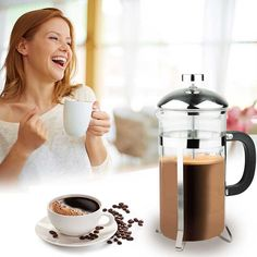 Nuvita French Press Coffee Maker - 8-Cup - $11.99. https://www.tanga.com/deals/33b3b227ed12/nuvita-french-press-coffee-maker-8-cup