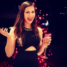little glass of champain with that? ;) #xmas #champain #all #dressedup