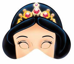 Máscaras de Blancanieves para Imprimir Gratis.