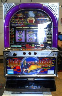 QUARTER/TOKEN PACHISLO HOT ROD QUEEN SLOT MACHINE, 268 PAGE MANUAL | Collectibles, Casino, Slots | eBay!