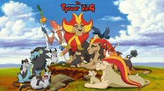 The lion king and pokemon