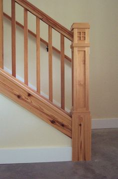 Awesome Craftsman Style Newel Post