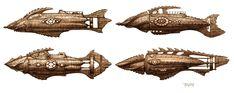 Nautilus Gothic Steampunk, Steampunk Fashion, Underwater Tattoo, Nautilus Submarine, The Mysterious Island, Sci Fi Models, Sci Fi Ships, Leagues Under The Sea, Alternate History