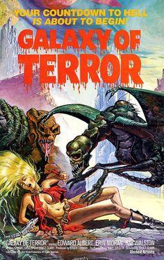 """La Galaxia del Terror"" (""Galaxy of Terror"", Bruce D. Clark, 1981)"
