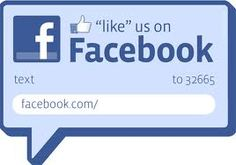 Like us on Facebook!  Just double click the photo and it will take you directly to our page :)  Thank You!