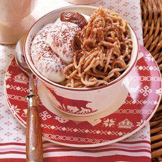Swiss Desserts, Macaroni And Cheese, Spaghetti, Pasta, Ethnic Recipes, Food, Cacao Powder, Food Portions, Dessert Ideas