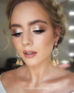 wedding makeup for brown eyes,wedding makeup natural,wedding makeup for blondes,. wedding makeup for brown eyes,. Simple Wedding Makeup, Wedding Eye Makeup, Wedding Makeup For Brown Eyes, Bridal Makeup Looks, Blue Eye Makeup, Bridal Hair And Makeup, Wedding Make Up, Green Wedding, Summer Wedding Makeup