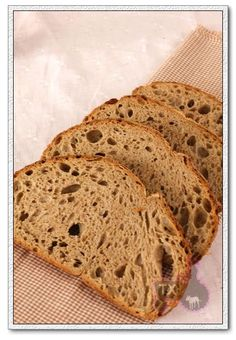 """Tartine"""" Book, the procedure is very similar to the basic country loaf ..."""