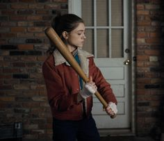 Image result for nancy wheeler stranger things baseball bat