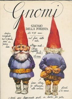 "Learned about these guys when I lived in ""The Netherlands""  ""David the Gnome"" cartoons..."