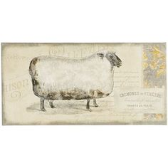 According to the Chinese zodiac, sheep represent sincerity, gentleness and compassion. Bring these values home with our whimsical wall art.
