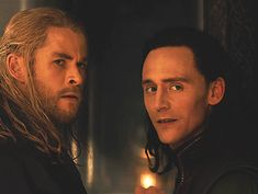 Loki & Thor looking like they're checking someone out
