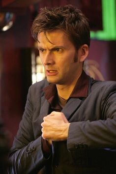 David Tennant Photo Of The Day - 19th August 2014: As the Tenth Doctor in '42' - May 2007