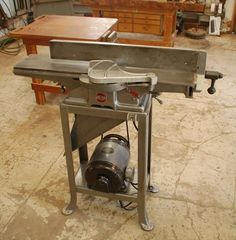 "Photo Index - Rockwell Manufacturing Co. - Delta 6"" jointer 37-220 
