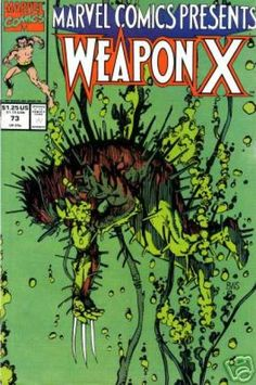 Weapon X 14 Marvel Comic Book cover  Barry Windsor-Smith wolverine