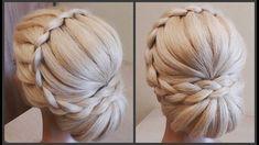 Прически.Обучение Прическам.Красивая текстурная прическа.Course on hairstyles.Beautiful hairstyles. - YouTube