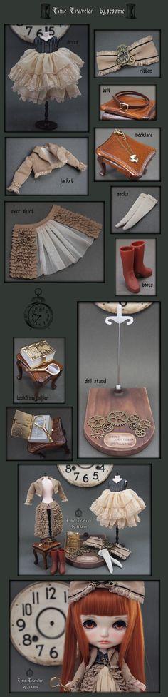 "Inspiration: ☆ custom Blythe 'Time Traveler' ☆ ""By.Sesame"" Admin - Auction - Rinkya! Japan Auction & Shopping"