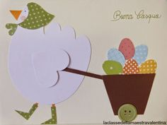 La classe della maestra Valentina: SIGNORA GALLINELLA Heart Crafts, Easter Crafts, Preschool Activities, Patches, Card Making, Bouquet, Scrapbook, How To Make, Art Ideas