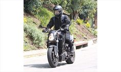 Nothing but Dirty Bikers!  Orlando Bloom was spotted cruising around the Hollywood Hills on his motorcycle in March 2012
