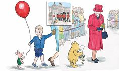 Prince George and the Queen in new Winnie-the-Pooh story released to mark Her Majesty's 90th   Daily Mail Online