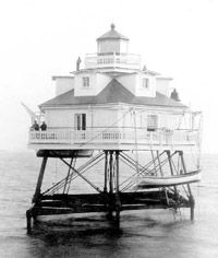 Annapolis Maritime Museum - Thomas Point Shoal Lighthouse