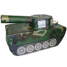 Army Tank Party Pinata, http://www.amazon.com/dp/B00N9N2XWS/ref=cm_sw_r_pi_awdm_5iGQub0GYKB3H