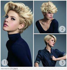 Stylish Haircuts, Trendy Hairstyles, Medium Short Hair, Short Hair Cuts, Short Hair Tomboy, Foto Portrait, Hair Color Caramel, Bridal Hair Inspiration, Business Hairstyles