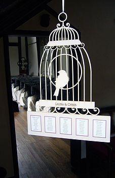 Lasercut Birdcage Table Plan