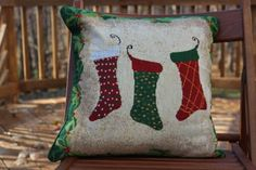 Tache Set of 2 Piece 16 x16 inches Festive Tapestry Christmas Holiday Hang My Stockings By the Fireplace Decorative Accent Throw Pillow Cushion Cover Set >>> Check out the image by visiting the link.